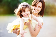 Mother and child - child custody attorney